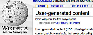 Wikipedia UGC