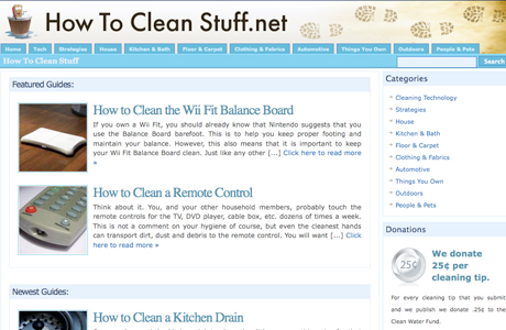 Howtocleanstuff