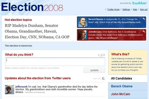 Twitterelection